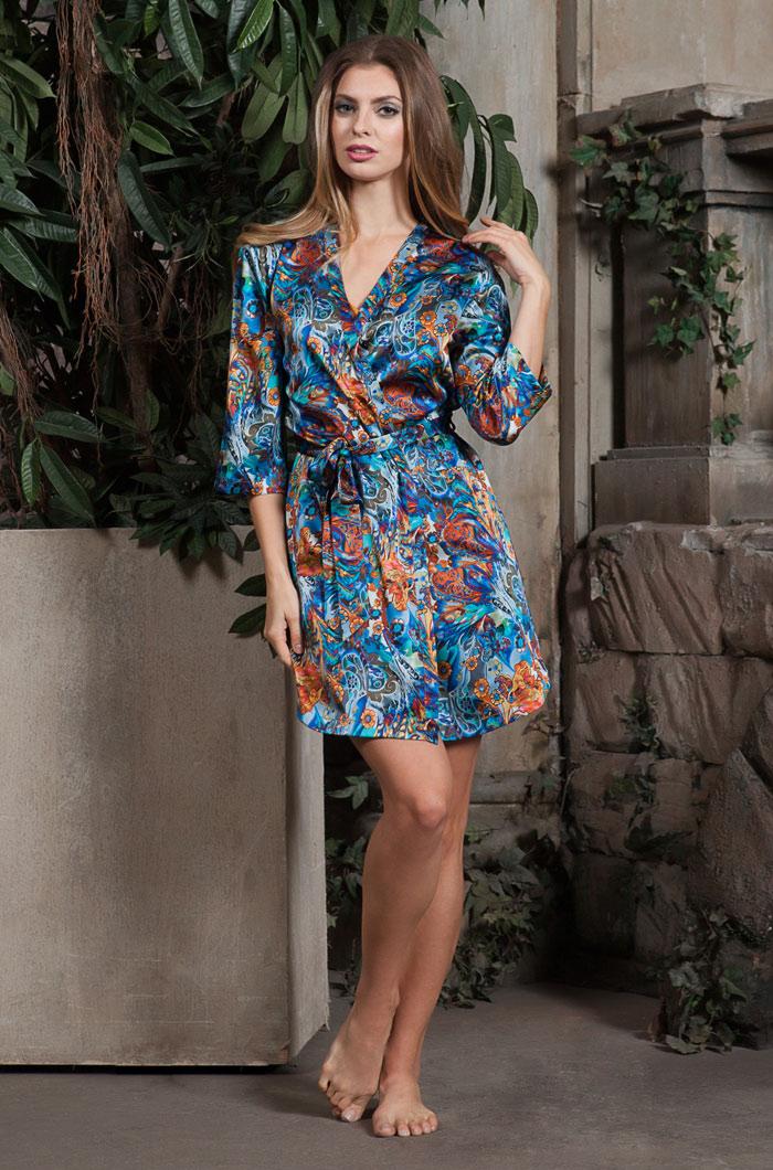 b9fbfb17b7c18 Халаты, рубашки из натурального шелка - Sweet-Kokete